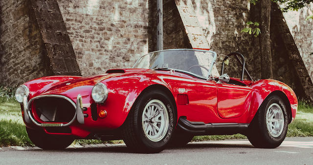 1966 Shelby Cobra 427 Roadster Chassis No Csx3276