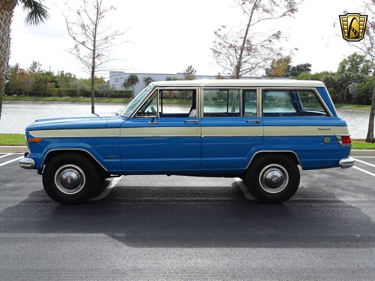 1977 Jeep Wagoneer For Sale 2203663 Hemmings Motor News Jeep