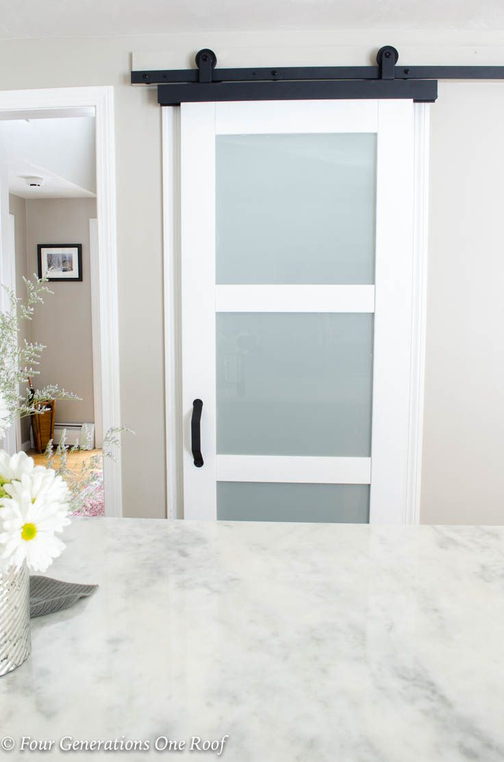 How To Install A Barn Door Installation Without Removing Door Trim
