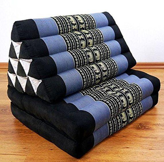 Foldout Triangle Thai Pillow Cushion 2