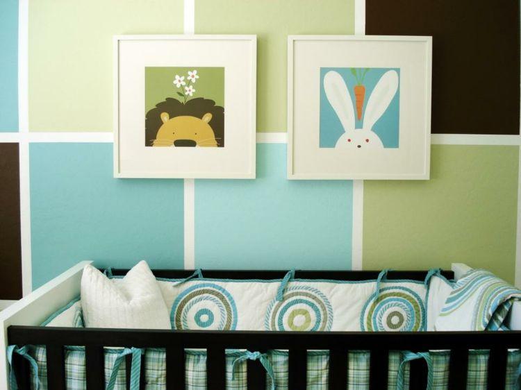Como decorar una habitacion de bebe 50 soluciones for Cuadros habitacion bebe