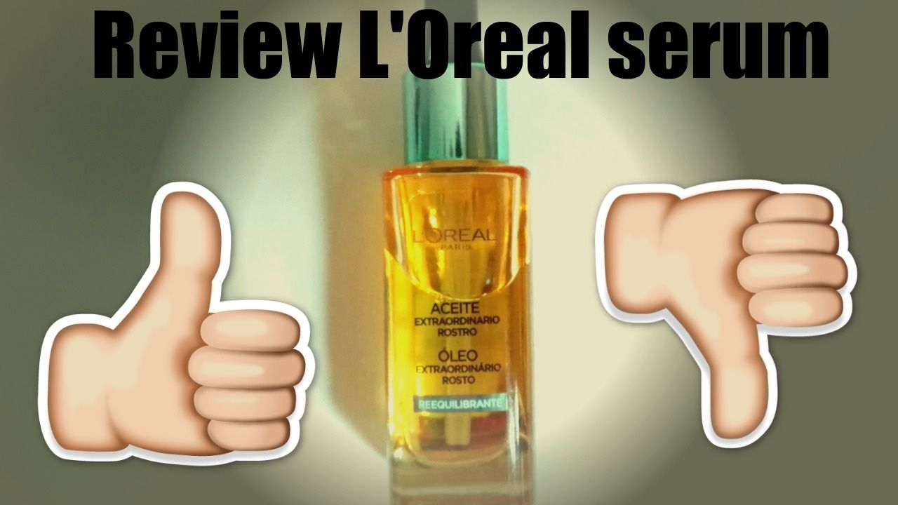 Review L'Oreal Facial Oil - worth it or bash it?