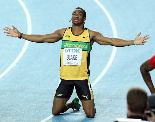 Jamaica's Yohan Blake Tops Usain Bolt in Country's Olympic Trials | Olympic trials, Usain bolt ...