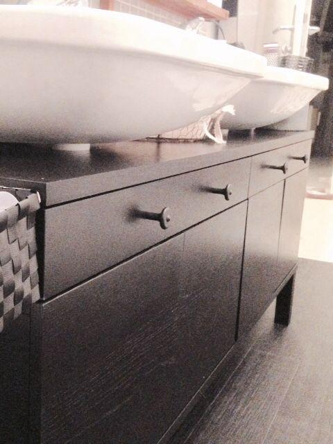 Ikea Bjursta Vanity Hack Easy Simple Bathroom Vanity