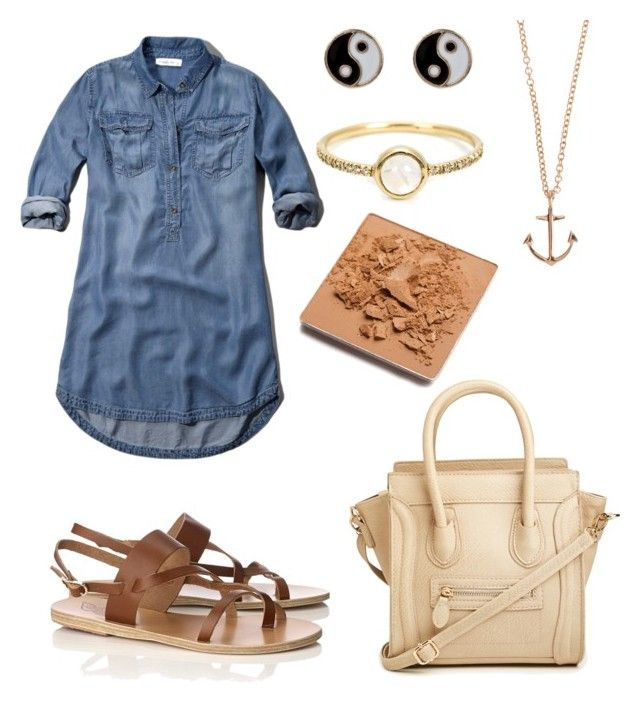 """""""For my mom"""" by sole-rack on Polyvore featuring Ancient Greek Sandals, DailyLook, Abercrombie & Fitch, Monsoon, Irene Neuwirth, Minor Obsessions and Trish McEvoy"""