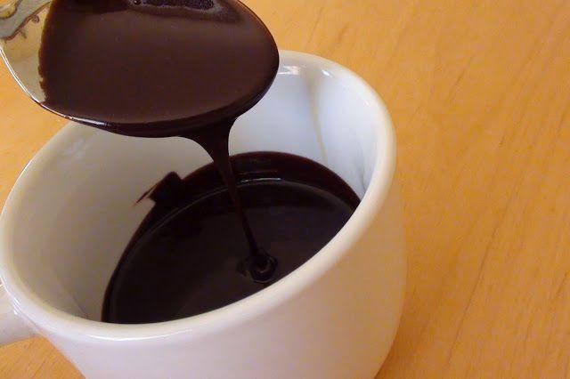 zsuzsa is in the kitchen: COCOA CHOCOLATE GLAZE