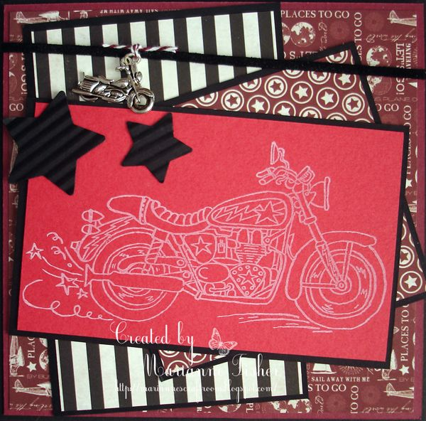 Marianne S Craftroom Easy Rider Cards And Tags 2 Easy Rider