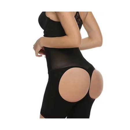 d4d97e991a9 Women s High Waist Tummy Open Butt Lift Shapewear - 4X Large ...