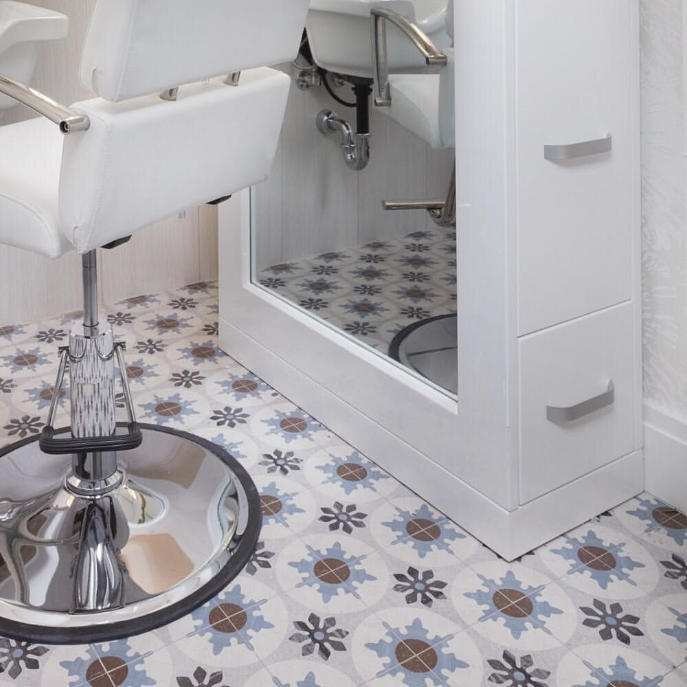 Cementine has all the charm of a hand painted concrete tile without ...
