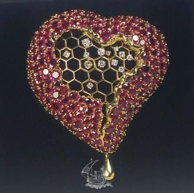 Salvador Dalí i Domènech - The Honeycomb Heart