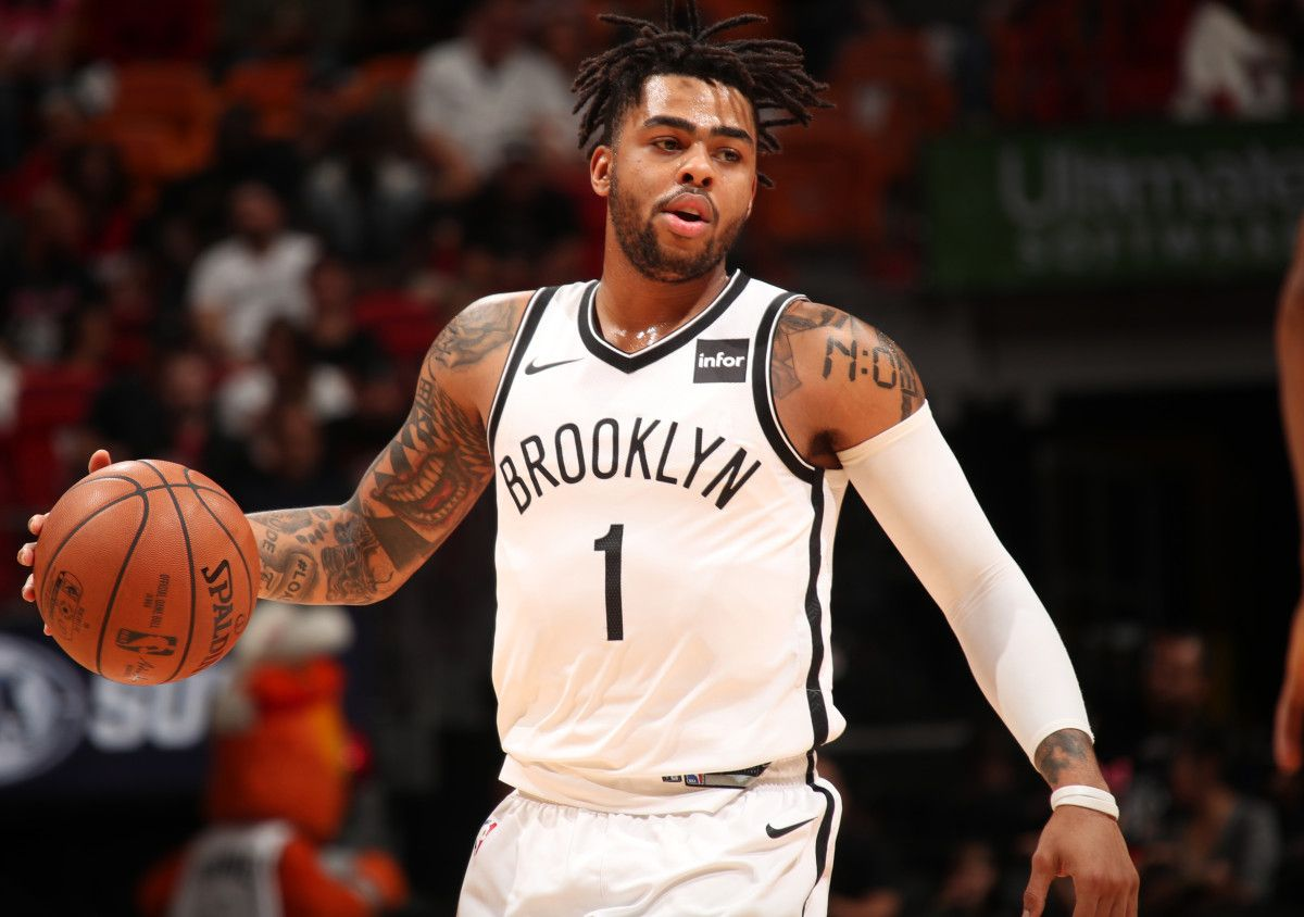 D Angelo Russell And His Knees Will Guide Nets 2018 19 Plans