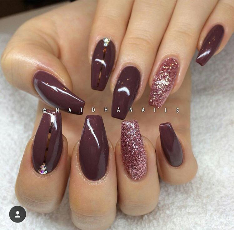 I Remember Having The Same Color Nail Polish But I Lost It Awhile And Now I Missed It Nail Designs Nails Gorgeous Nails