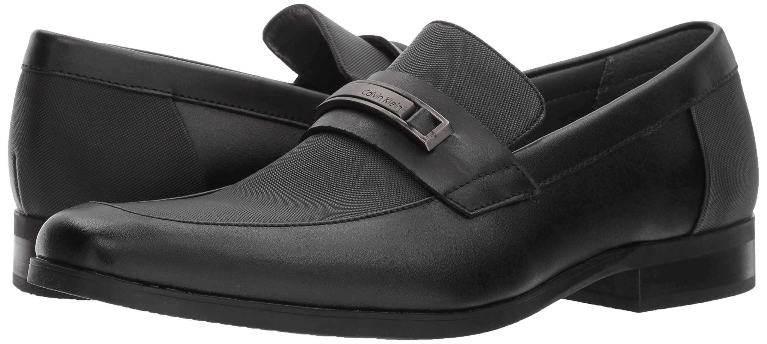 df14868ab Calvin Klein Mens Jameson Soft Leather/City Emboss SlipOn Loafer ...