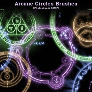 100 Awesome High Resolution Photoshop Brushes Gimp Brushes Circle Symbol Photoshop Brushes