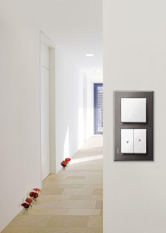 7ce177cc63 Különleges anyagok, minőség és elegancia: Merten M-Elegance - Schneider  Electric