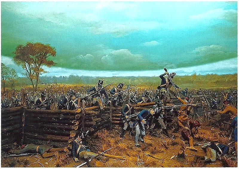War Of 1812 The Battle Of Horseshoe Bend Was Fought On March 27 1814 Napoleon Uniforme