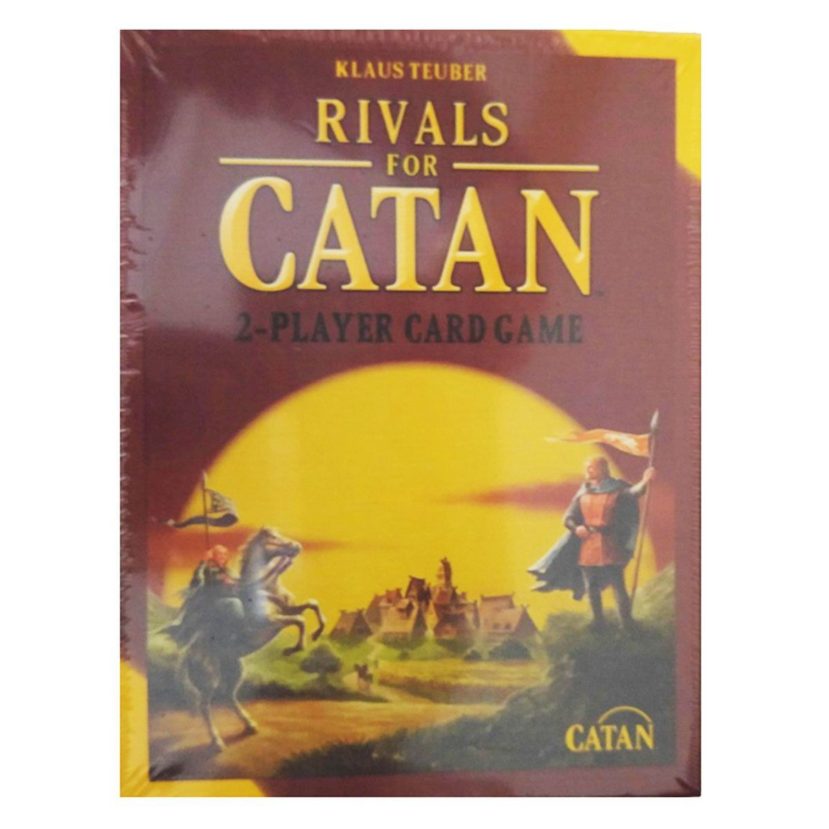 Settles Of Catan Rivals For Catan 2 Player Game Card