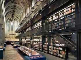 """Una iglesia de Maastricht, la mejor librería del mundo según """"The Guardian"""""""