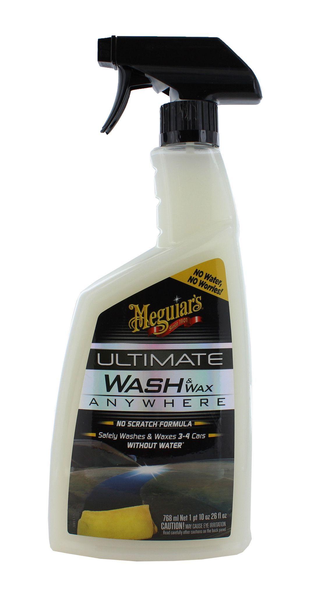 Meguiars G3626 Ultimate Wash & Wax Anywhere Spray 26 oz