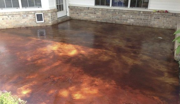 Nwa Dealpiggy Interior Or Exterior Stained Concrete Flooring Floors Pinterest Concrete