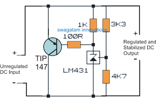 High Power Zener Diode Circuit Diode Power Supply Circuit Circuit Projects
