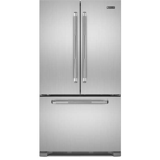 "Jenn-Air72"" Counter Depth French Door Refrigerator JFC2290REM; pro looking applicance but reasonable cost; taller fridge to fill cabinet gap"