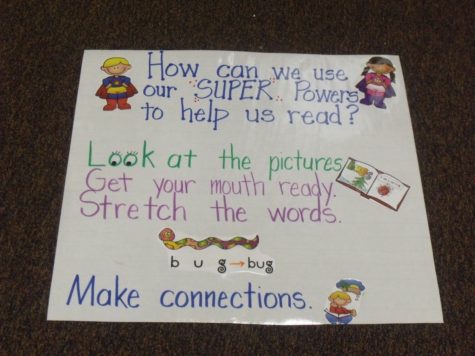 How can we use our super powers to help us read also teaching anchor rh pinterest