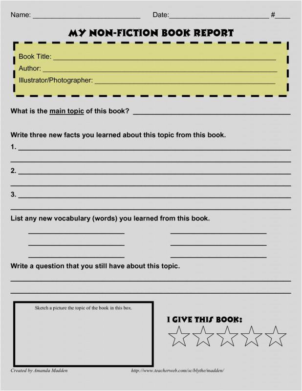 4th Grade Book Report Template New Free Download 45 Book Report Template Format Free Resum Book Report Template Middle School Book Report Templates Book Report