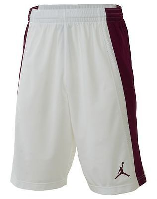 d163c4b97688c1 Nike Jordan Baseline Short Mens 642321-102 White Red Basketball Shorts Size  2XL