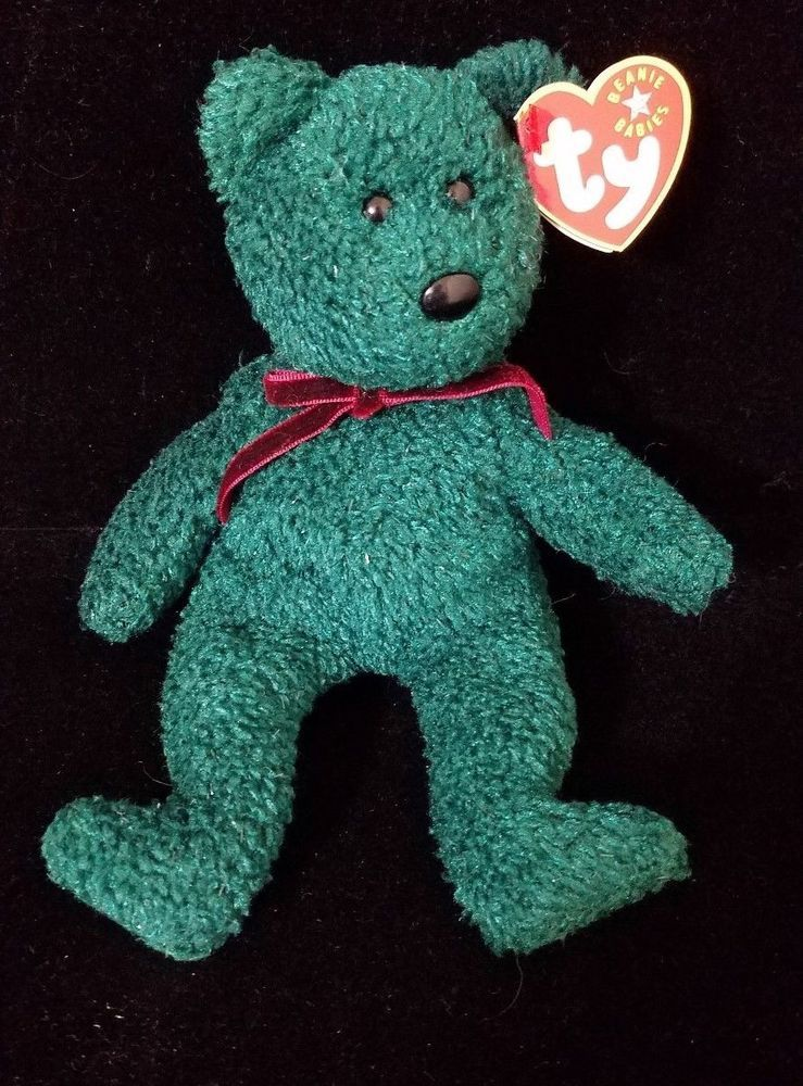 Ty Beanie Baby ~ 2001 HOLIDAY TEDDY the Bear ~ MINT with TAGS ~ RETIRED   TYBeanieBaby 7fbe2ba462cd