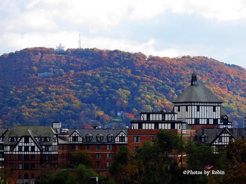 Mill Mountain And Hotel Roanoke Roanoke Va Roanoke Star City