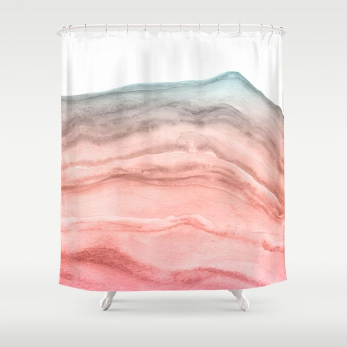 Buy Agate Art Southwest Colors Shower Curtain By Blueskywhimsy Worldwide Shipping Available At Society6