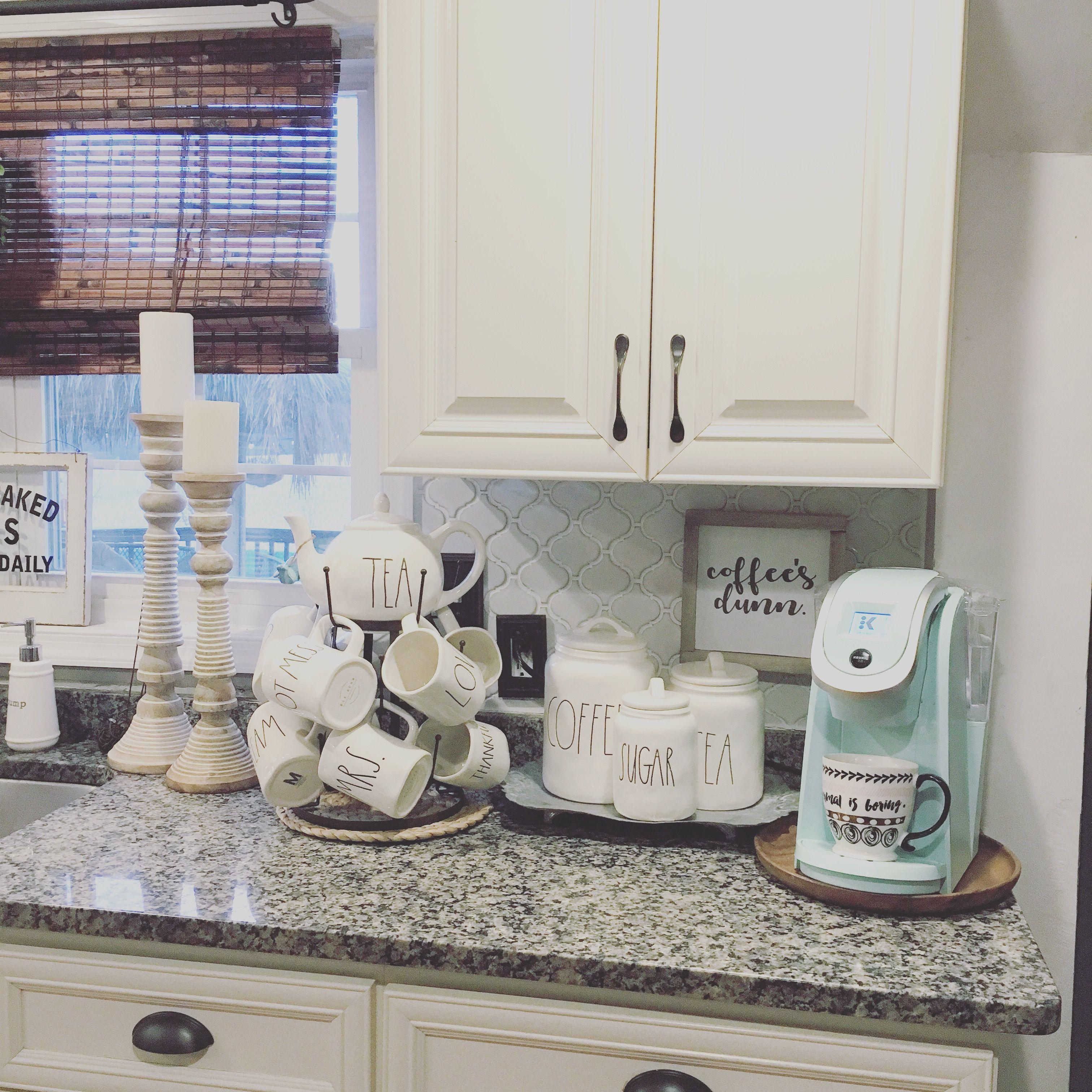 Coffee Bar | beach house deco | Pinterest | Küche