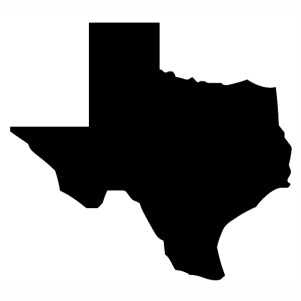 Texas Map Vector File Texas Map Silhouette Vector All Country Flags
