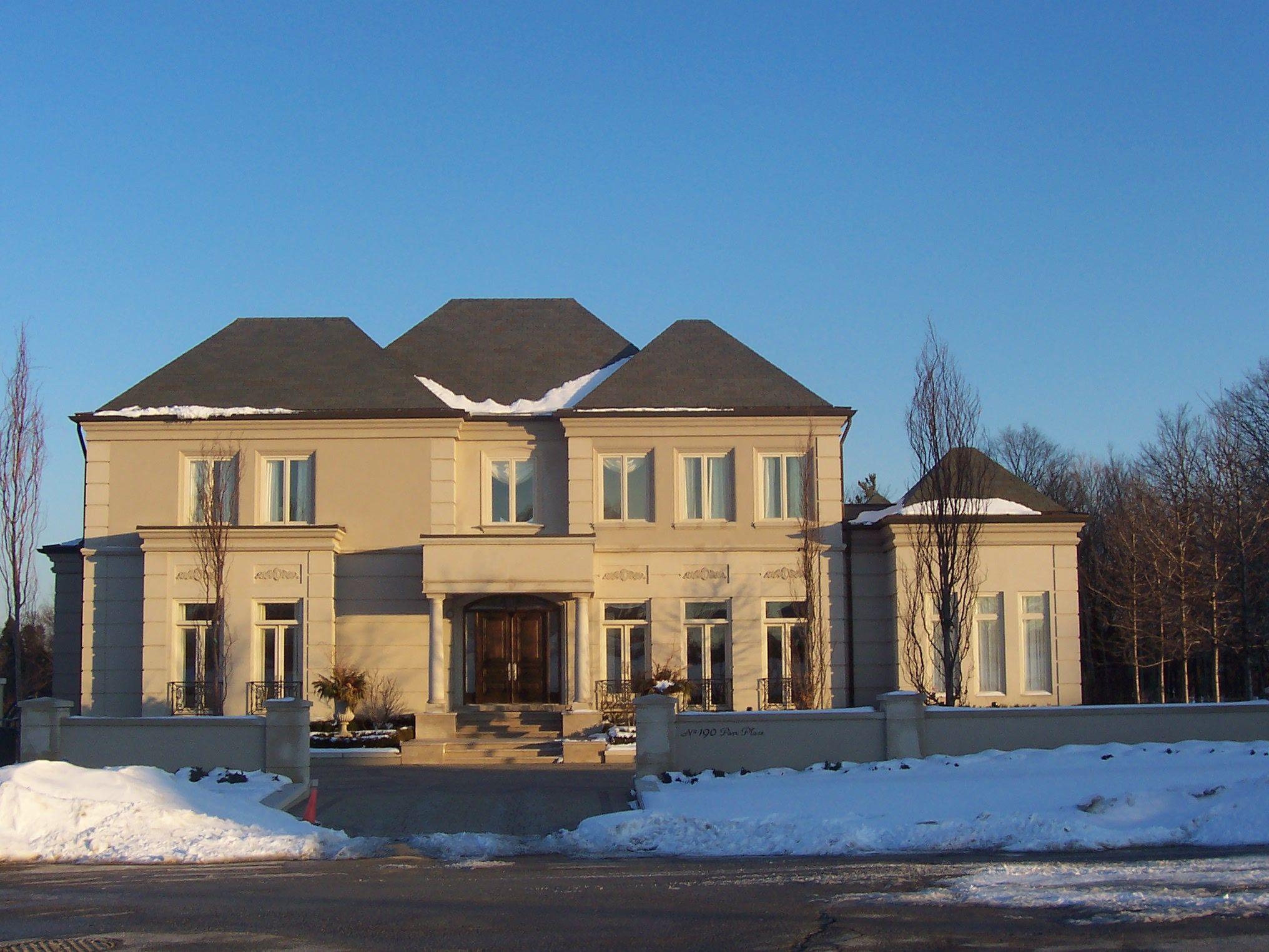 Toronto Custom Home Slate Roof Slate Roof Custom Homes House Styles