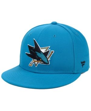 sports shoes c6c22 1c53d Authentic Nhl Headwear San Jose Sharks Basic Fan Fitted Cap ...