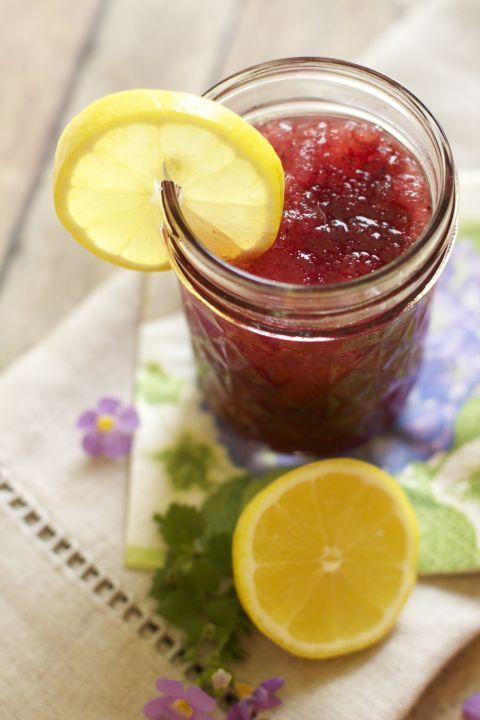 LEMON BLUEBERRY MOONSHINE SLUSH - Get the recipe here!