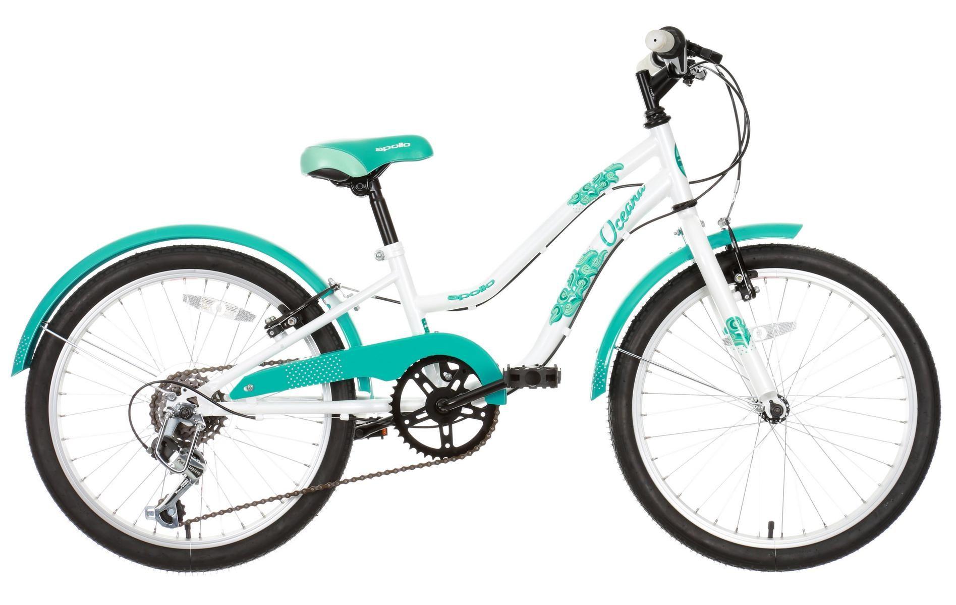 Apollo Oceana Girls Hybrid Bike 20 Kids Bike Boy Bike