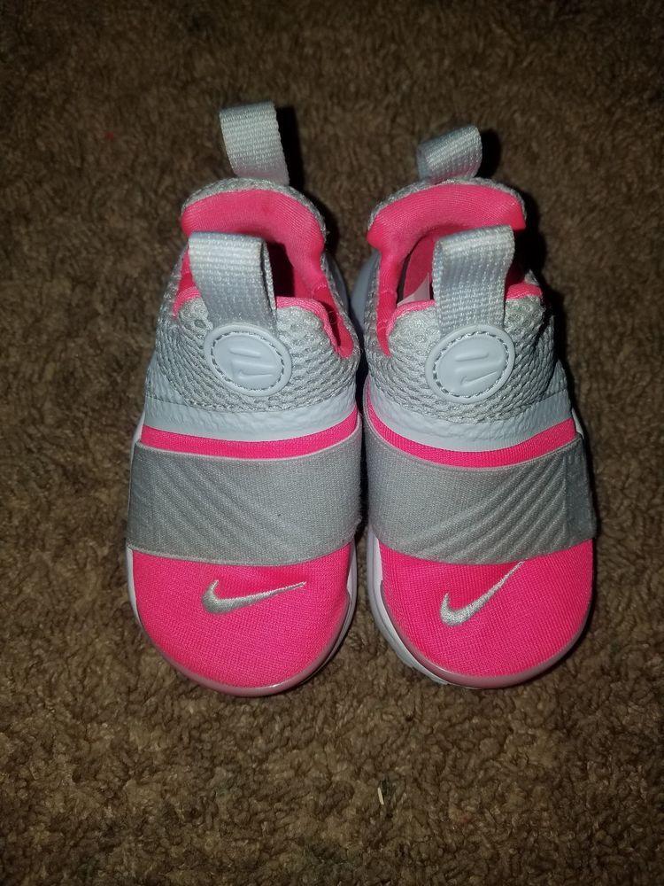 Girls toddler Nike Presto Extreme Pink