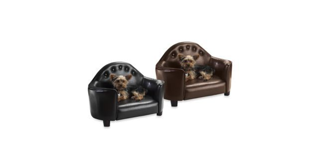 Pet Bed with Tufted Headboard $79.99