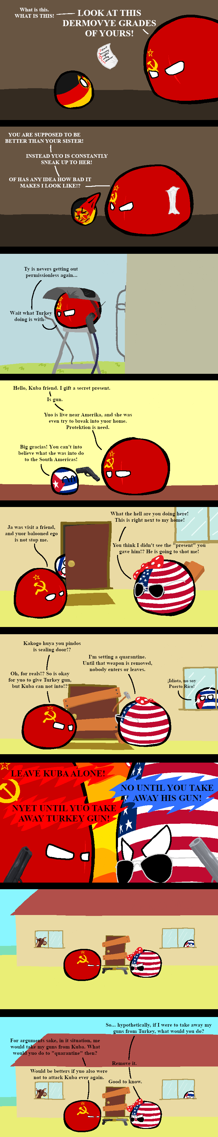 Countryballs Speedart Cold War Nato Vs Warsaw Pact W Allies