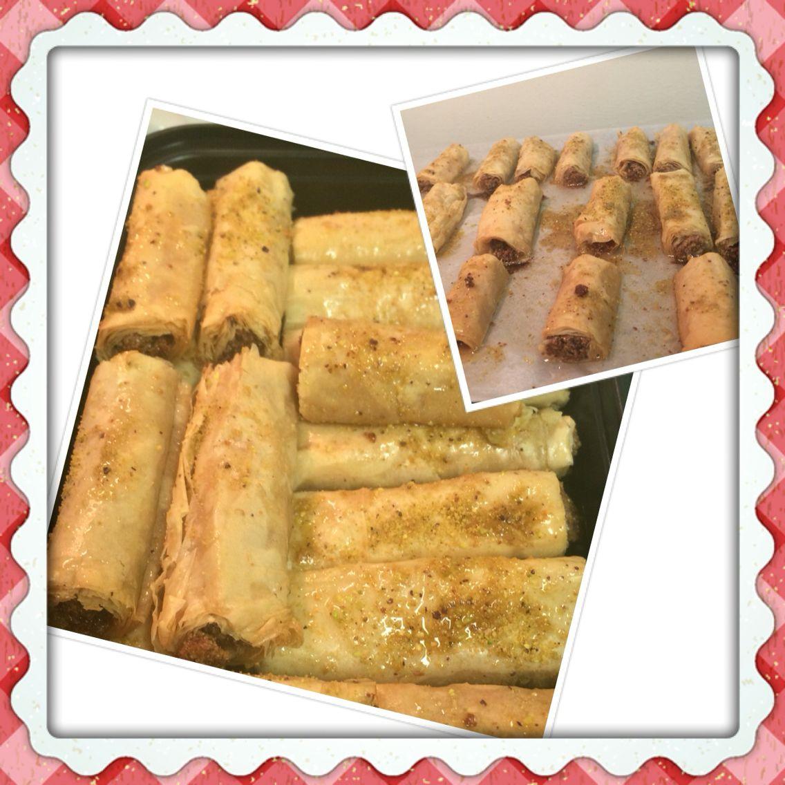#mycooking #allhomemade #baklawa #lebanesecooking #lebanesecuisine #lebanesegastronomy #gastronomy #dessert #baking #homemade