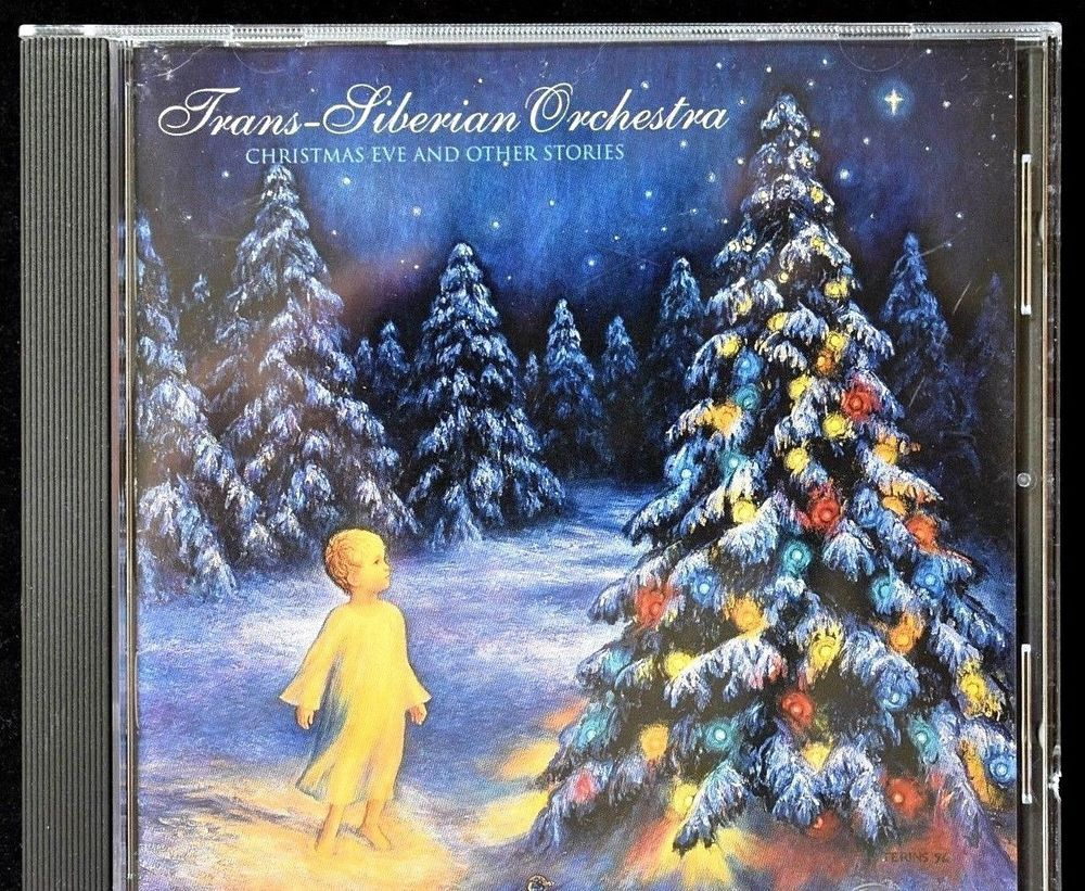 Trans-Siberian Orchestra Christmas Eve and Other Stories CD ...