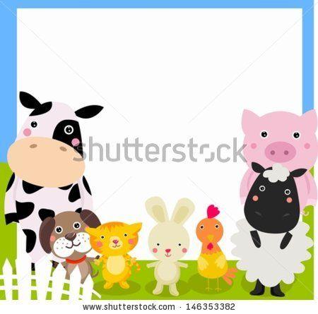 Farm Animal And Frame Animal Clipart Free Stock Photos Image Farm Animals