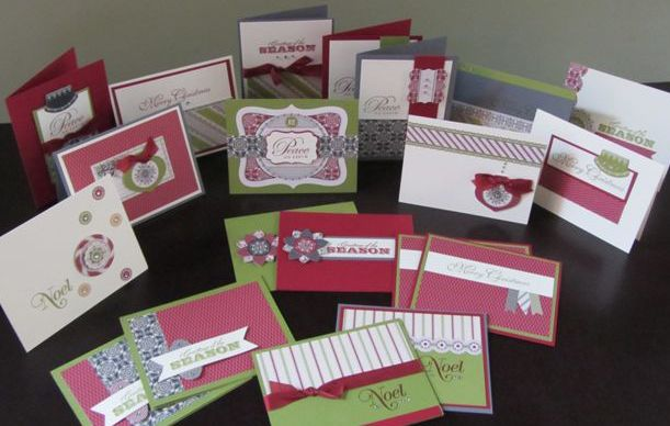 Merry Moments Christmas Cards | Peony Paper Crafts