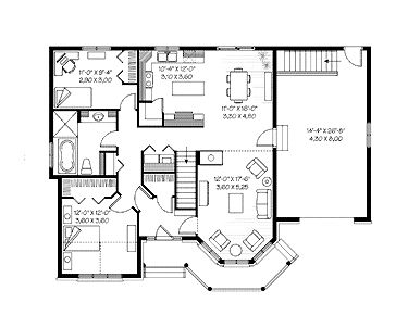 Blueprint house blueprint pinterest country house plans style houseplans future home barn lrg aae aefce upside down floor plans house beach malvernweather Image collections