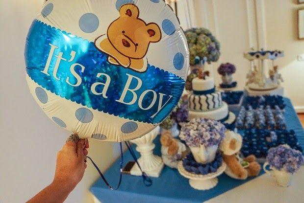 Festa Urso - inspire-se nesse chá de bebê lindo! - Baú de Menino