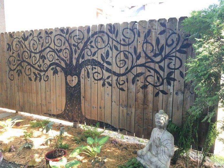 46 Unique Decorative Garden Fence Ideas For Your Yard With Images