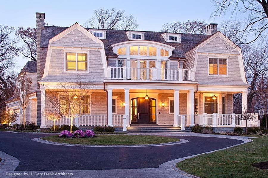 New England Shingle Style Architecture Designed By H