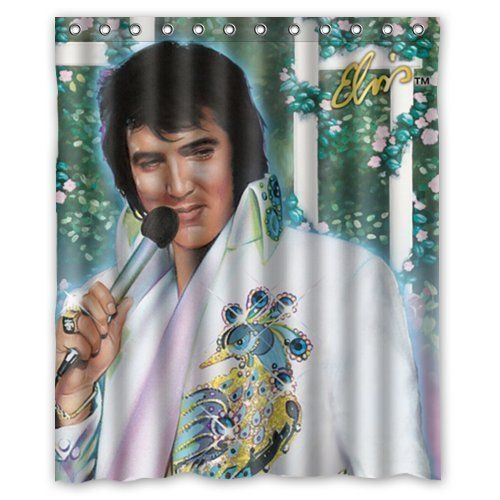 Artswow Custom Waterproof Polyester Fabric Elvis Presley Happy